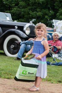 Girl with TD Bank Bag