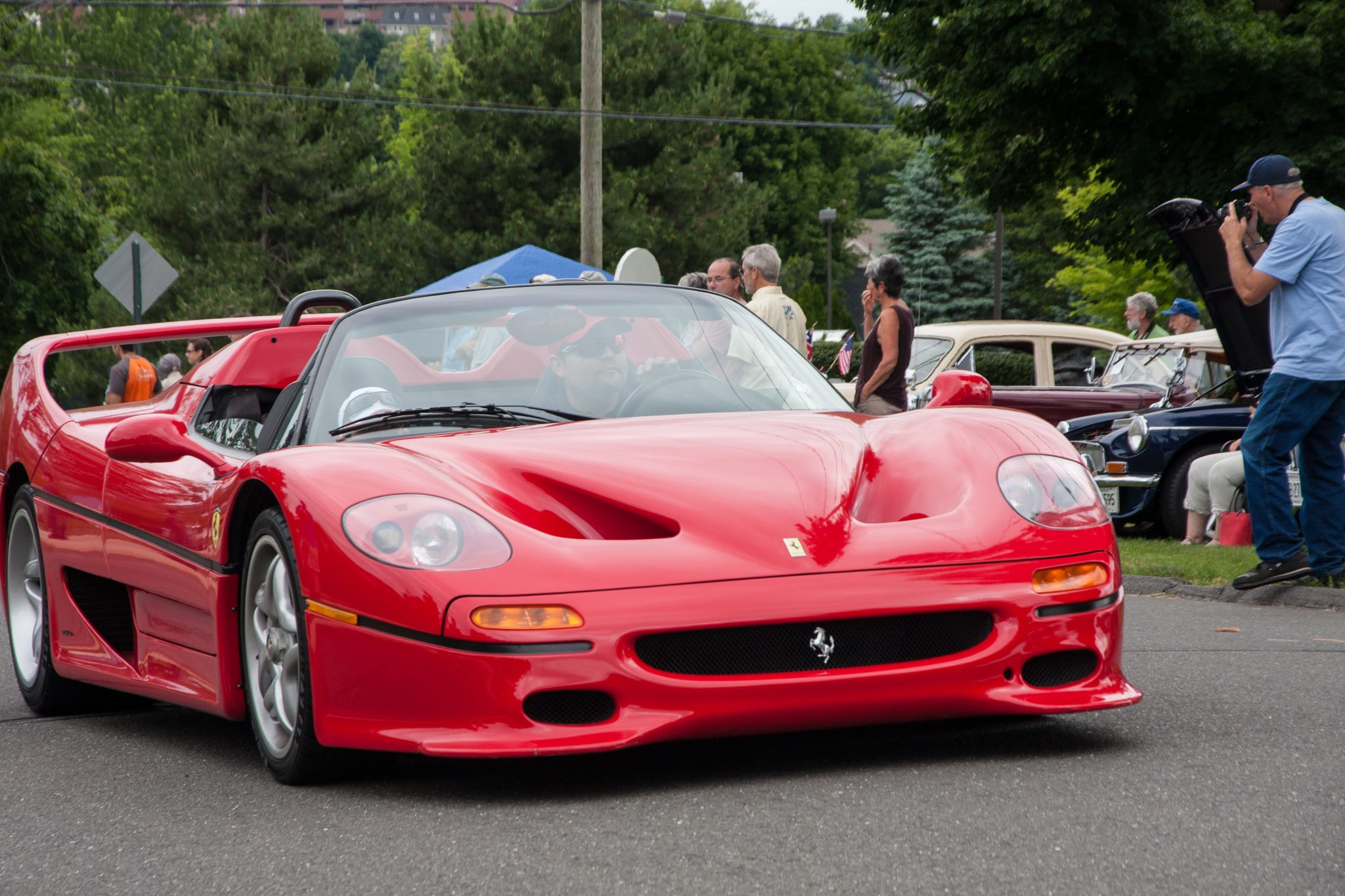 The Concorso of Supercars