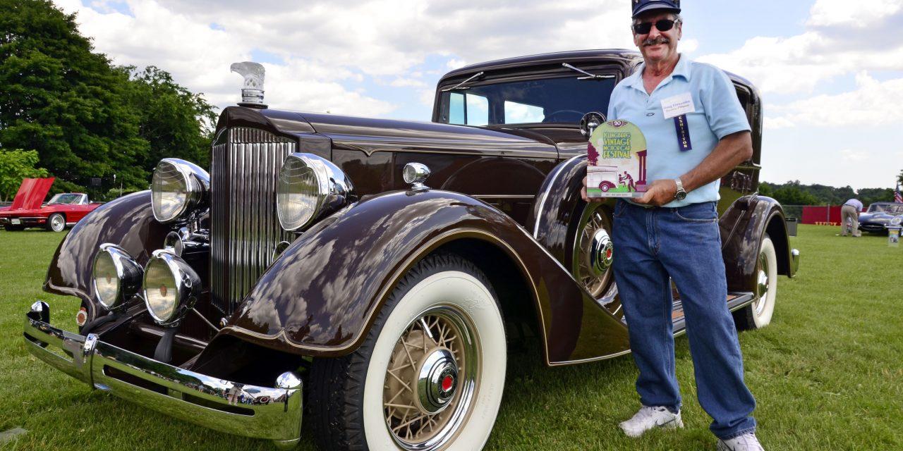Doug Fernandez & His 1934 Packard