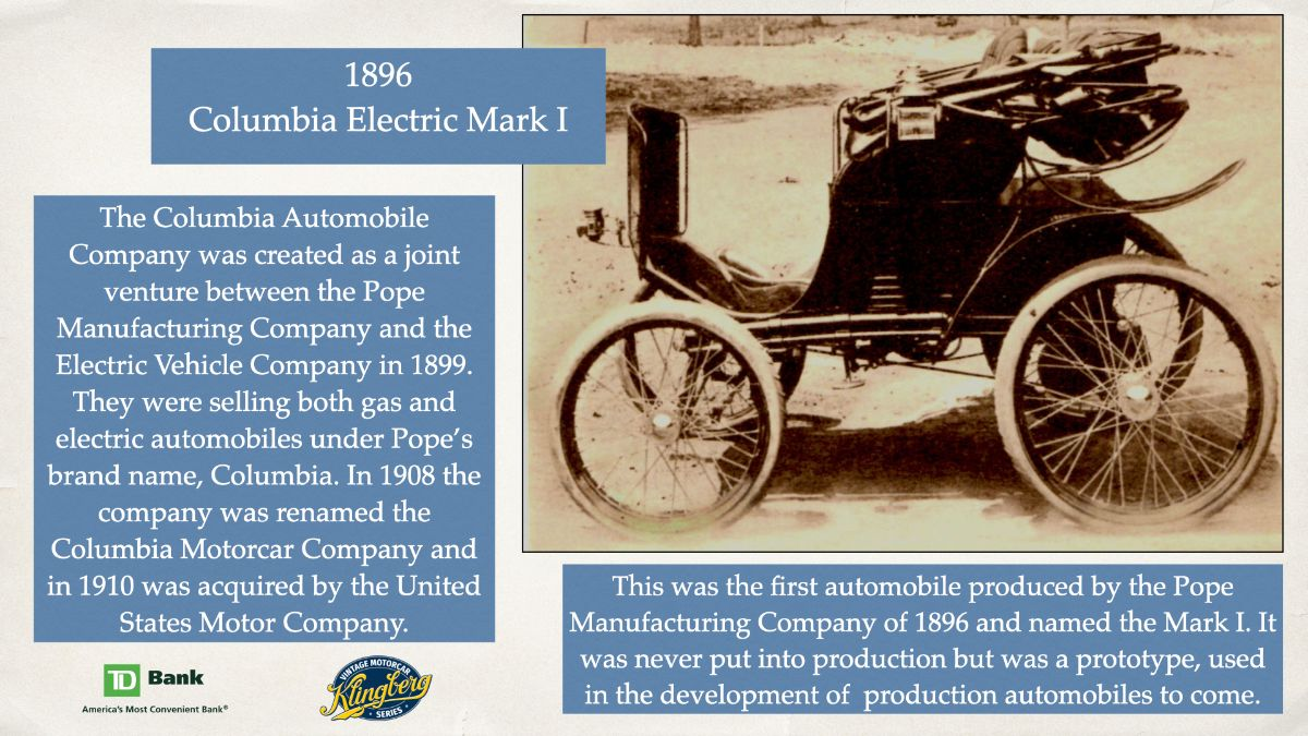 Columbia Electric Mark I