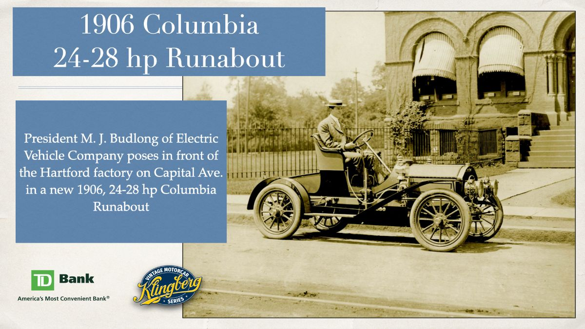 Columbia - 24-28hp Runabout