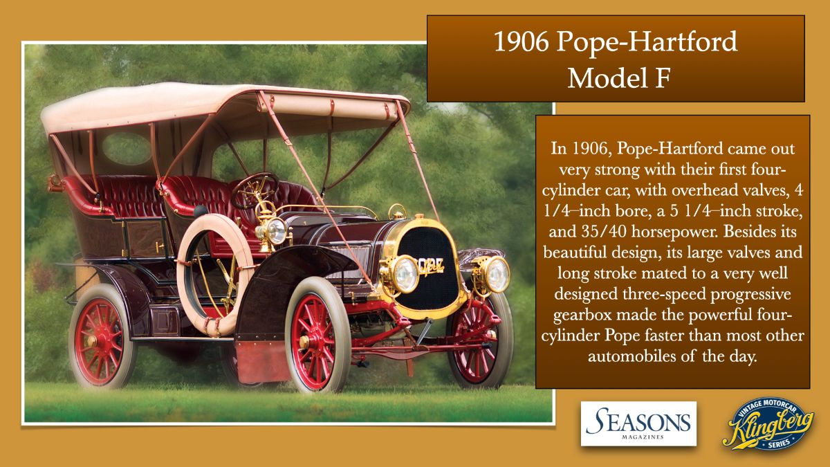 1906 Pope-Hartford Model F