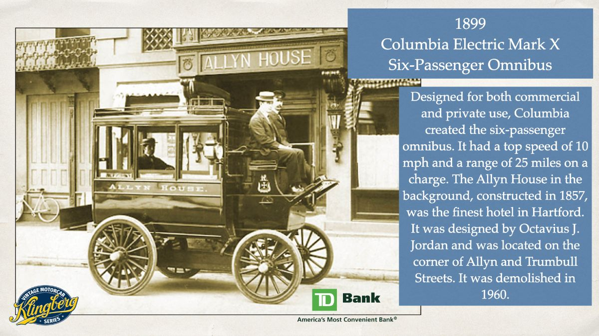 Columbia Mark X Six Passenger Omnibus