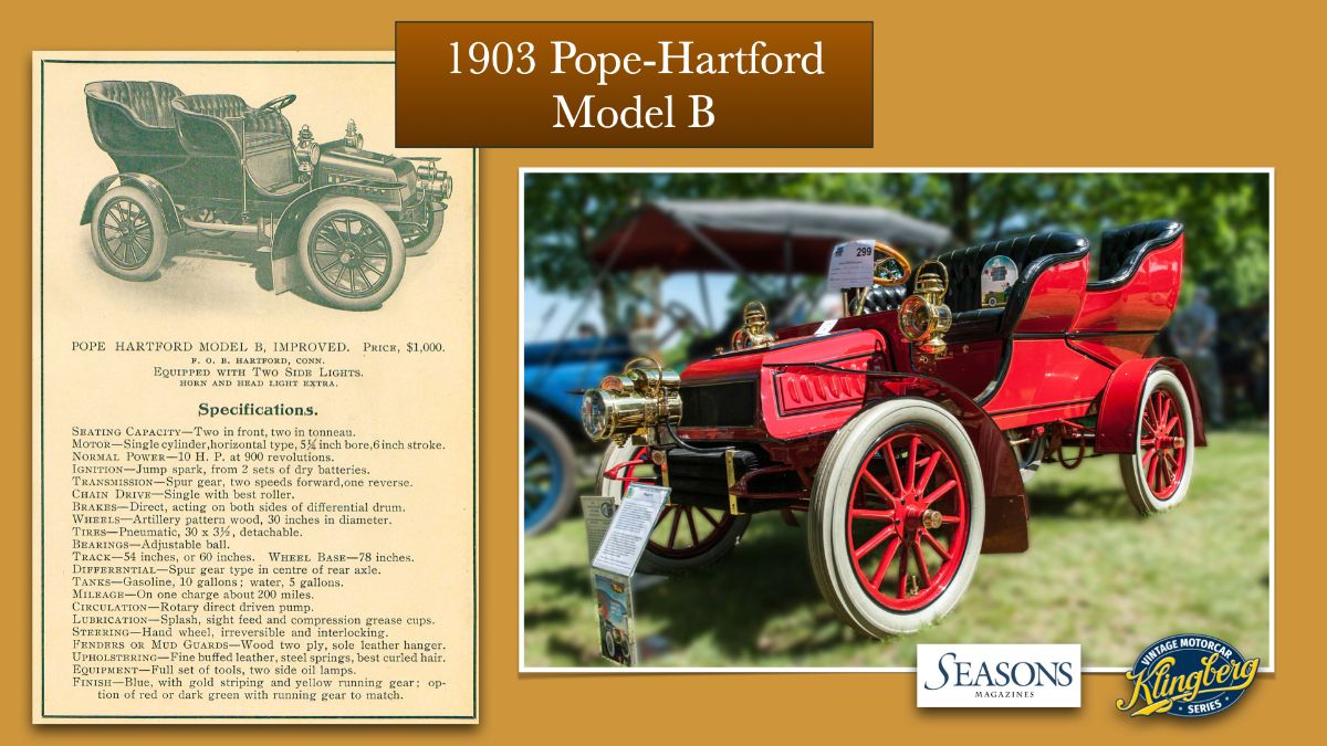 1903 Pope-Hartford Model B
