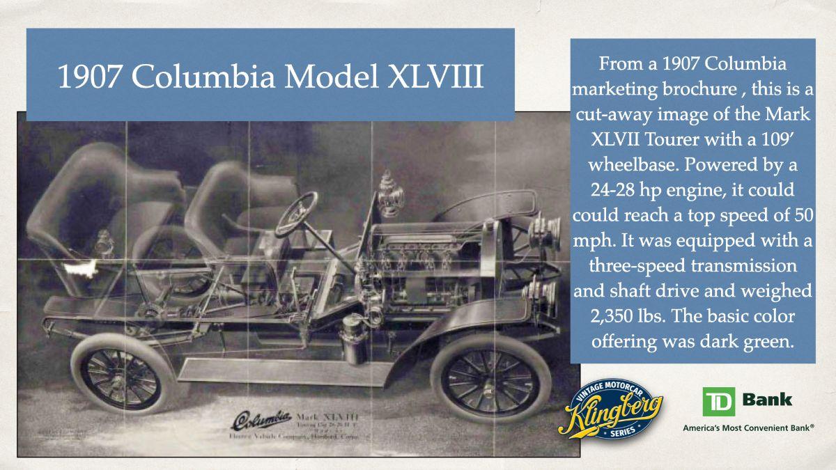 1907 Columbia Model XLVIII
