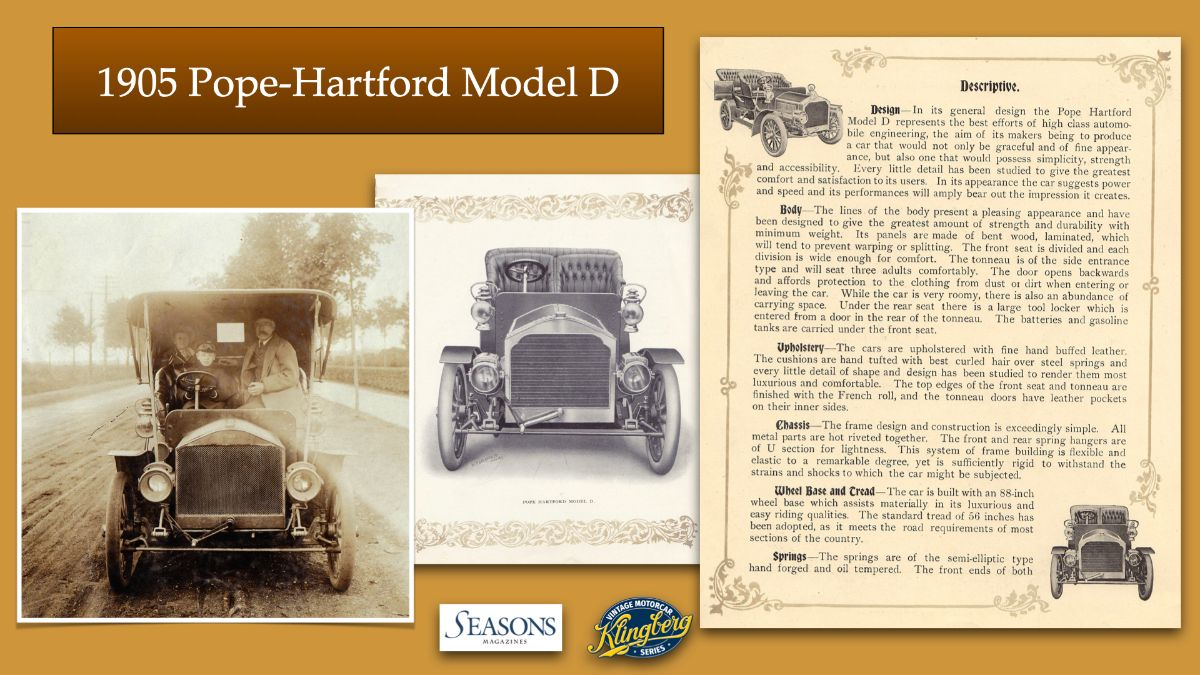 1905 Pope-Hartford Model D