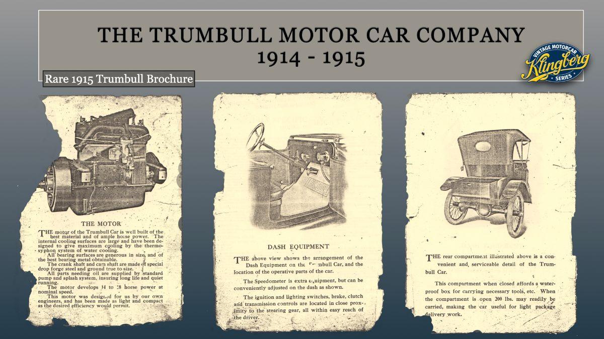 1915 Trumbull Brochure