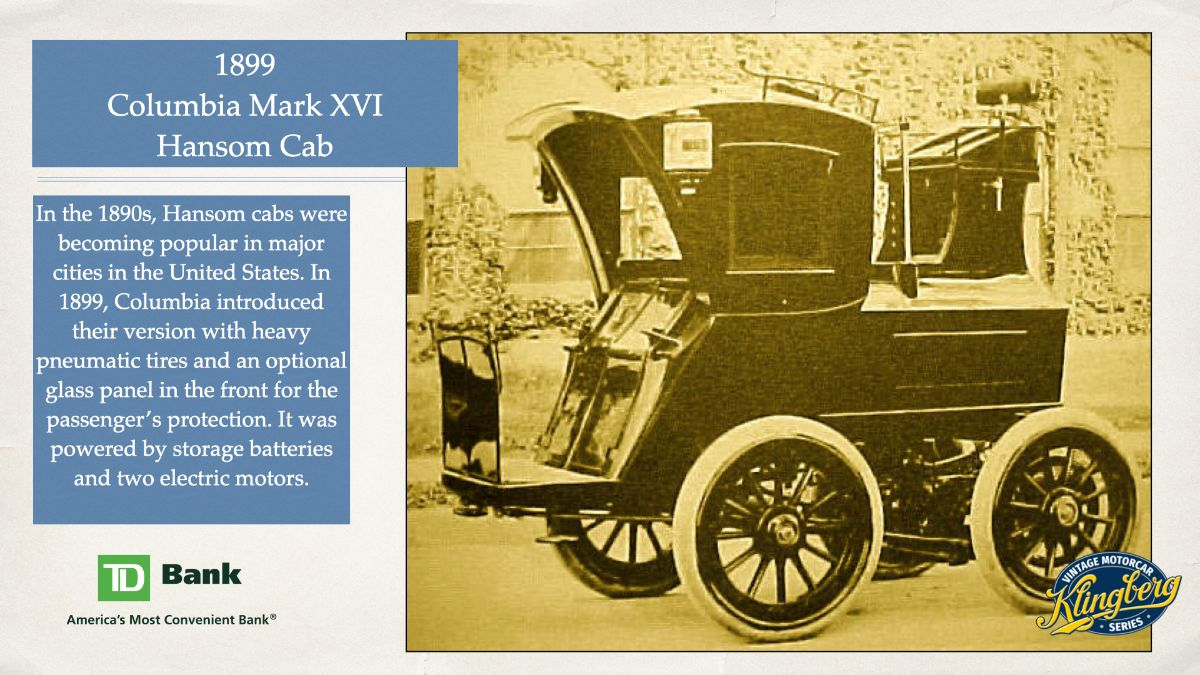Columbia Mark XVI Hansom Cab