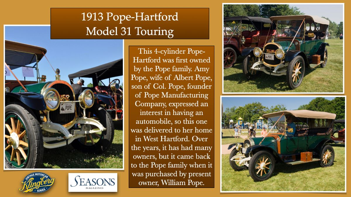 1913 Pope-Hartford Model 31 Touring