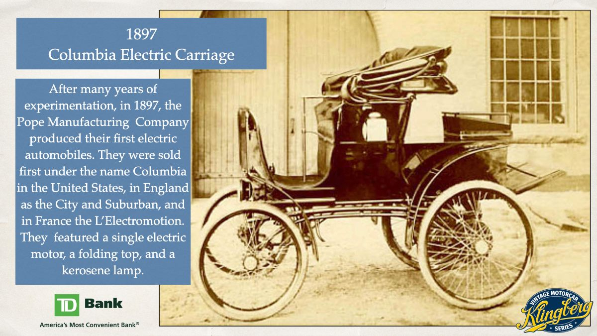 Columbia Electric Carriage