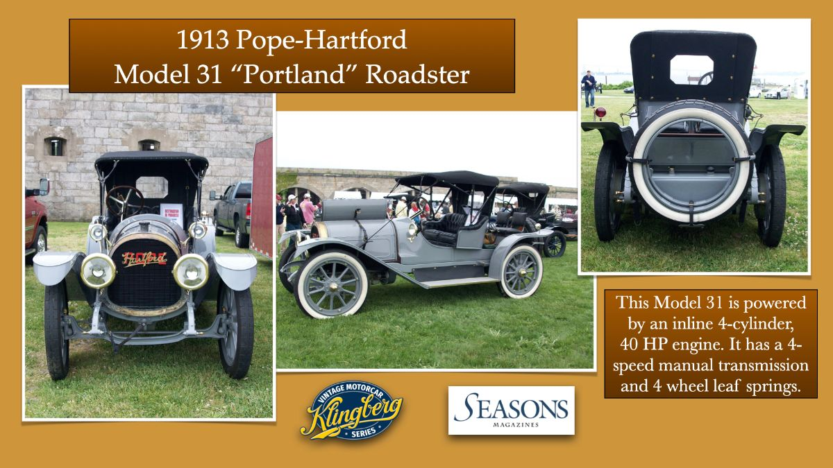 1913 Pope-Hartford Model 31 %22Portland%22 Roadster