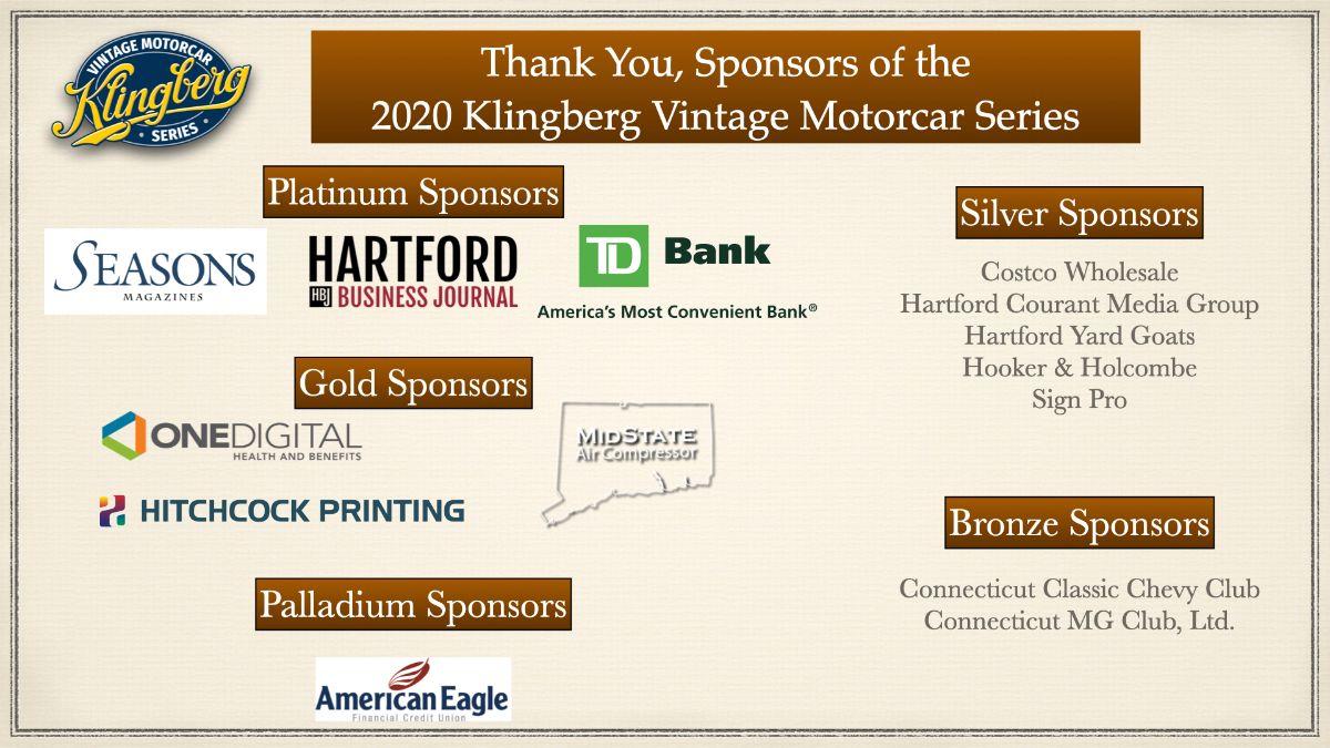 Motorcar Series Sponsors