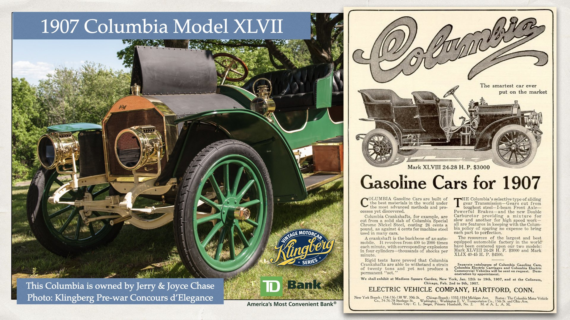 1907 Columbia Mark XLVII