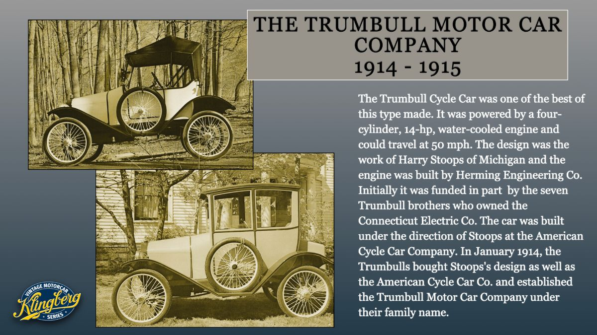 Trumbull Cycle Car