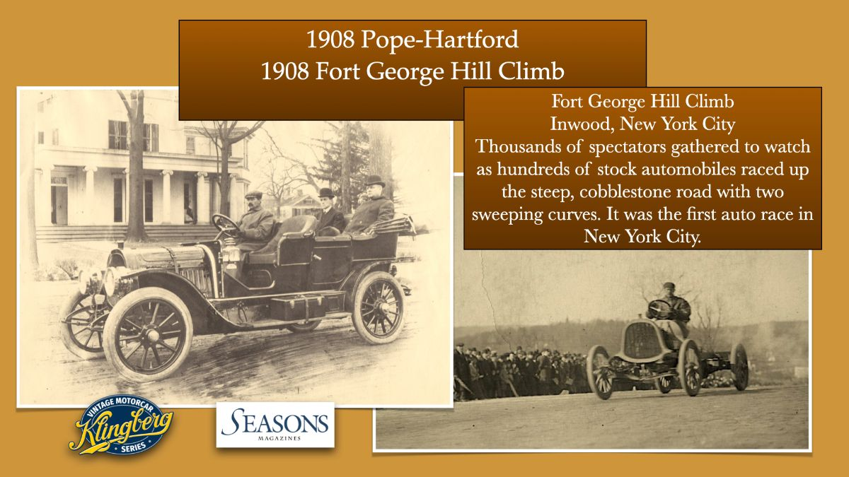 1908 Fort George Hill Climb