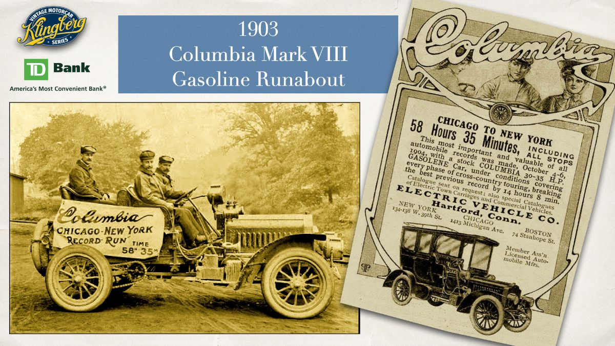 Columbia - Mark VIII Gasoline Runabout