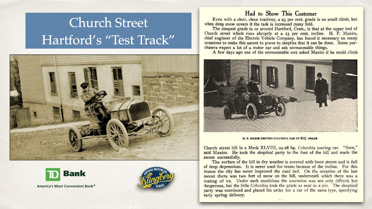 Church Street - Hartford's %22Test Track%22