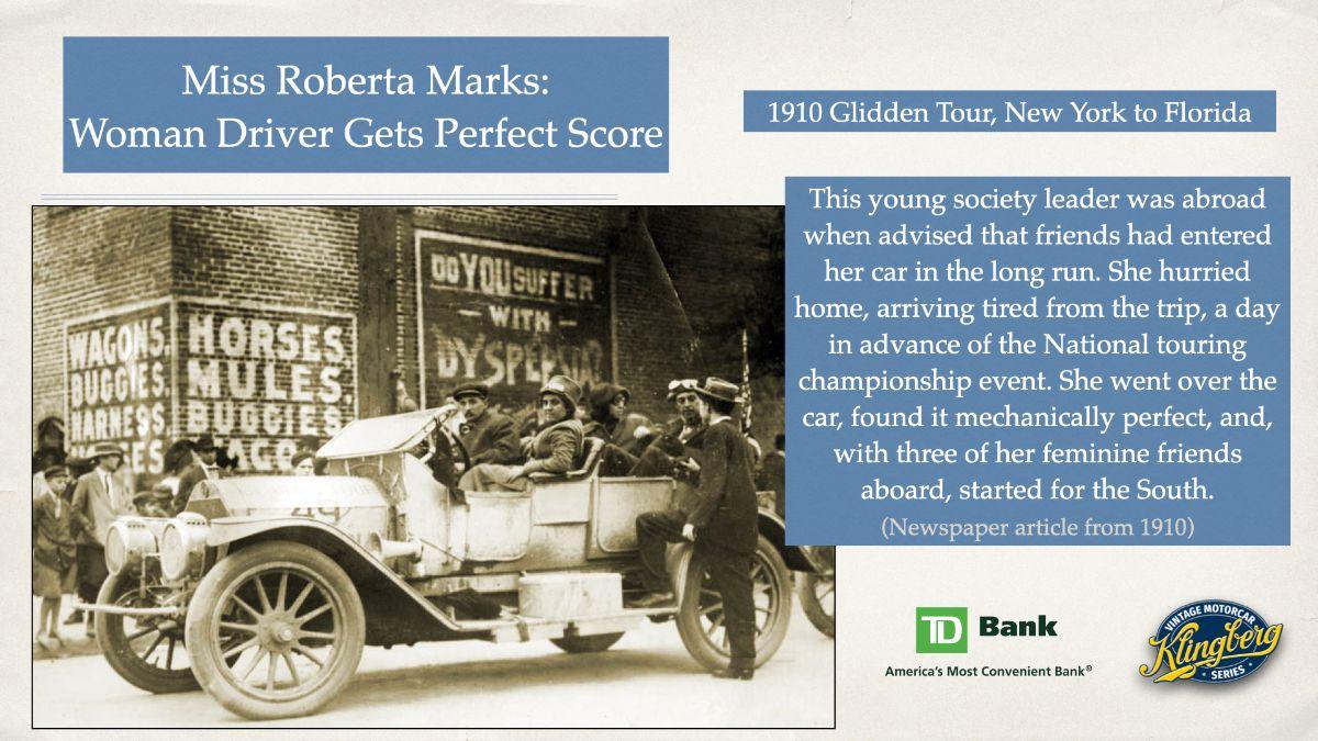 Miss Roberta Marks