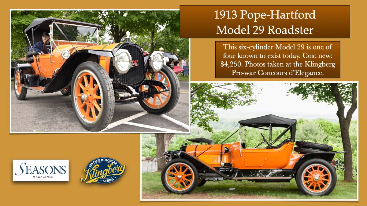 1913 Pope-Hartford Model 29 Roadster