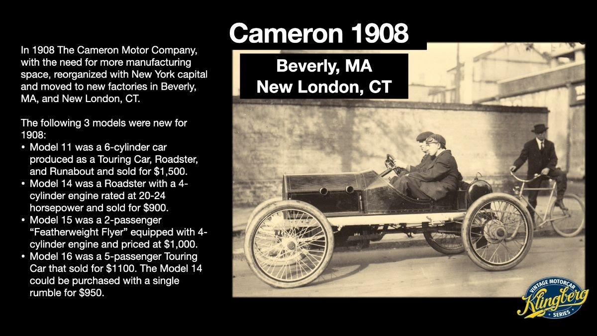 Cameron 1908