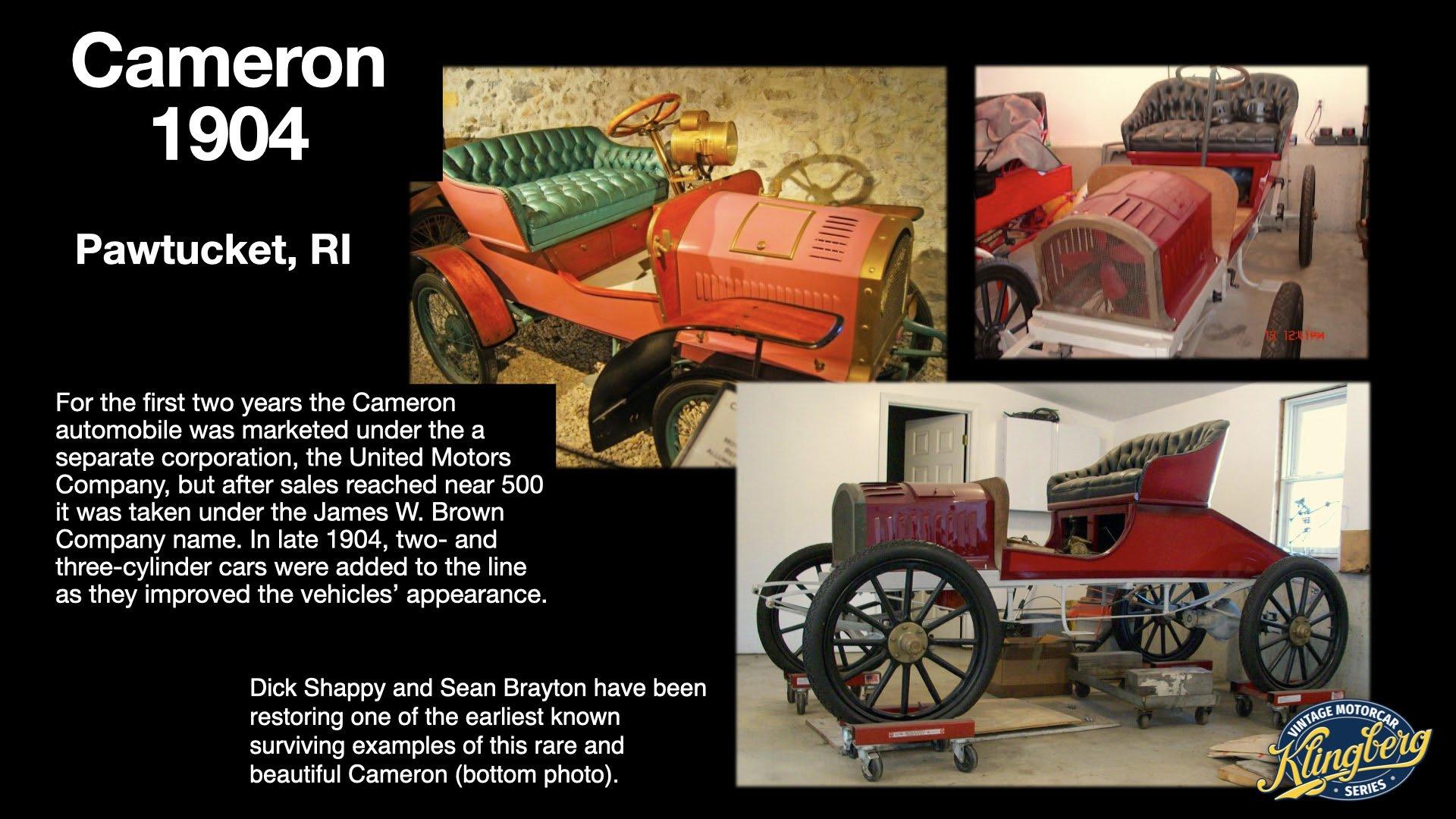 Cameron Automobile 4
