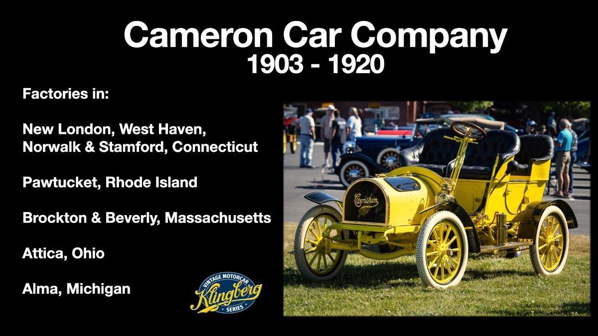Cameron Automobile 2