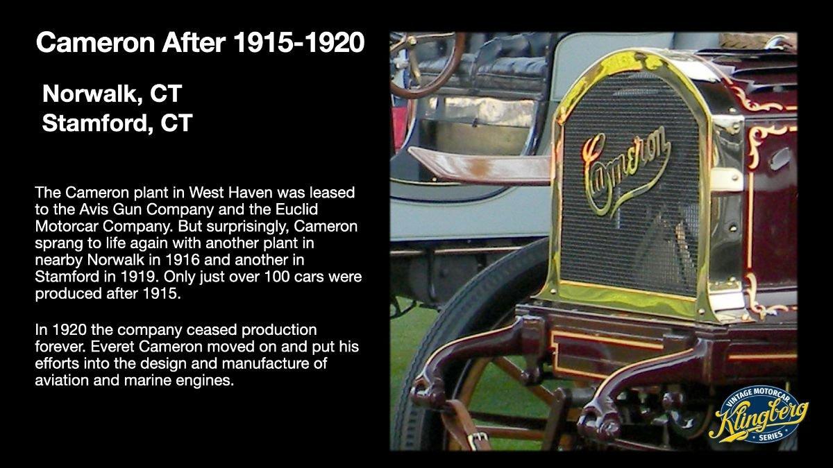 Cameron 1915-1920