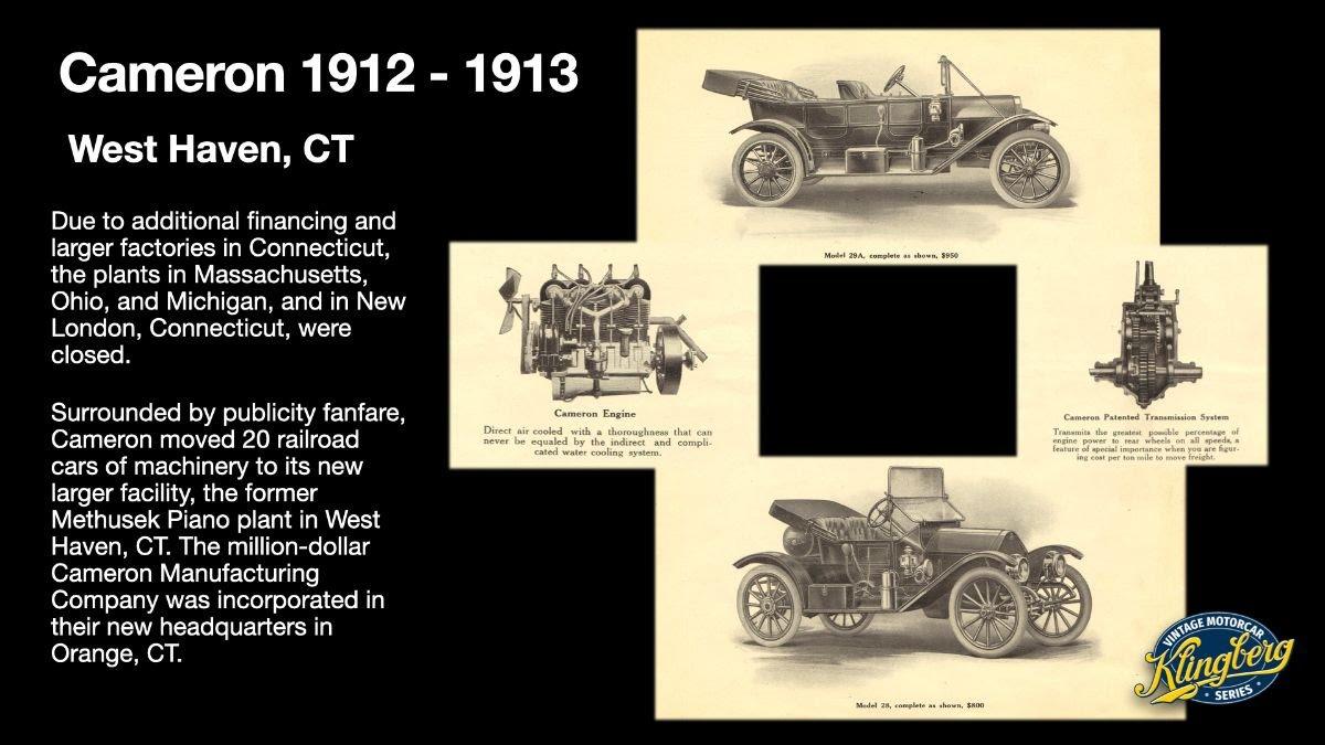Cameron 1912-1913