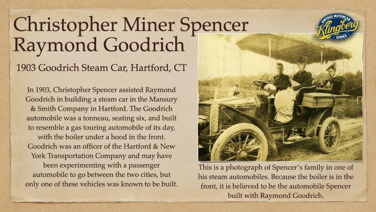 Christopher Miner Spencer - Raymond Goodrich