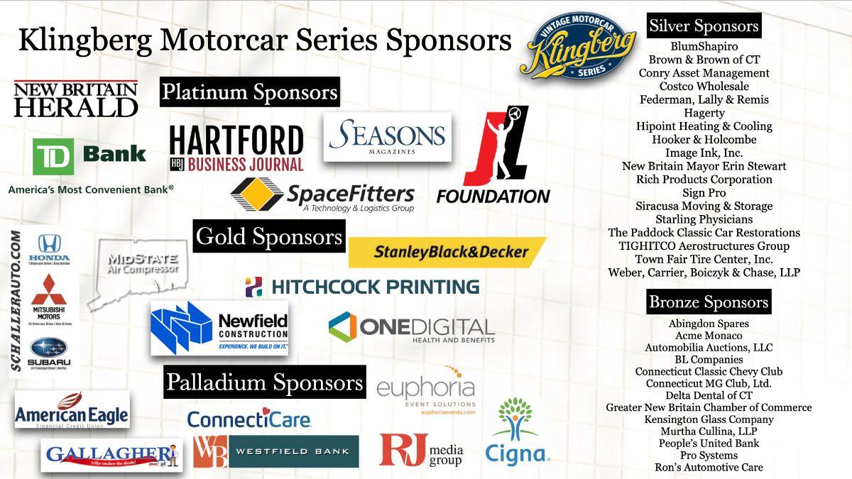 Klingberg Motorcar Series Sponsors