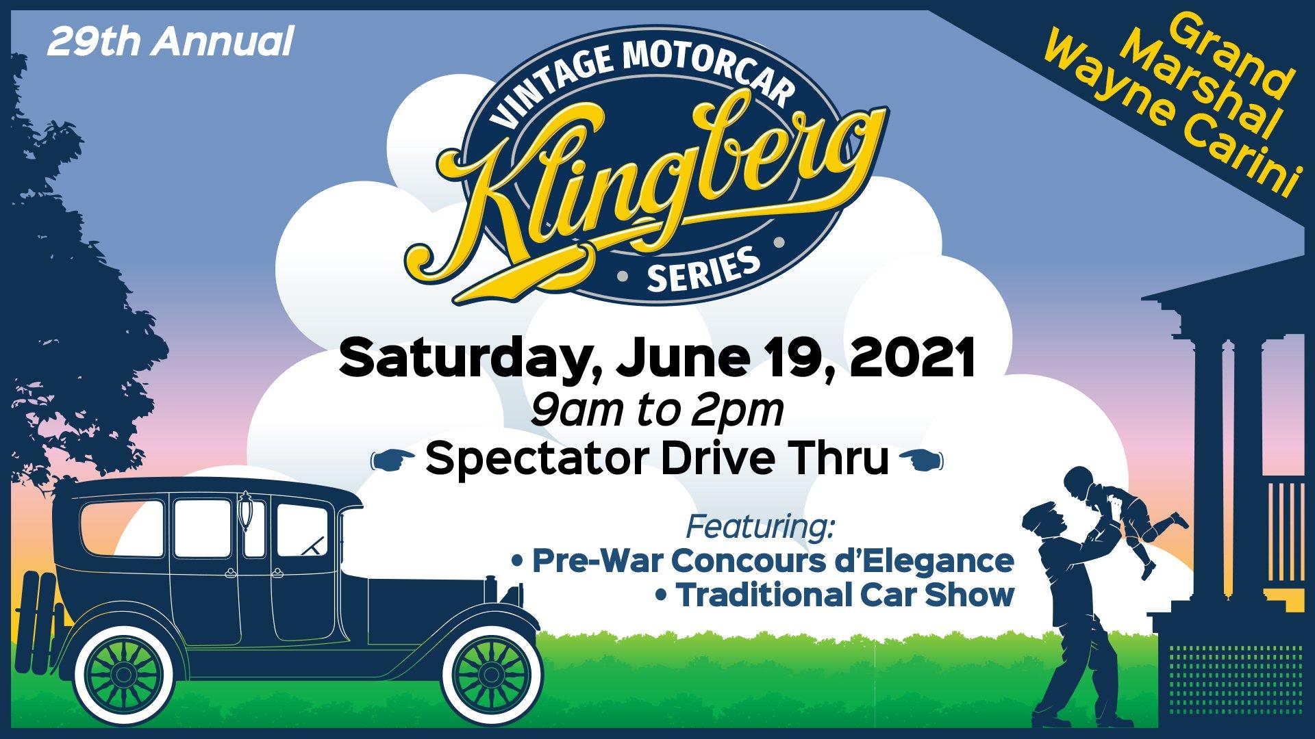 Klingberg Motorcar Series - Spet 26, 2020