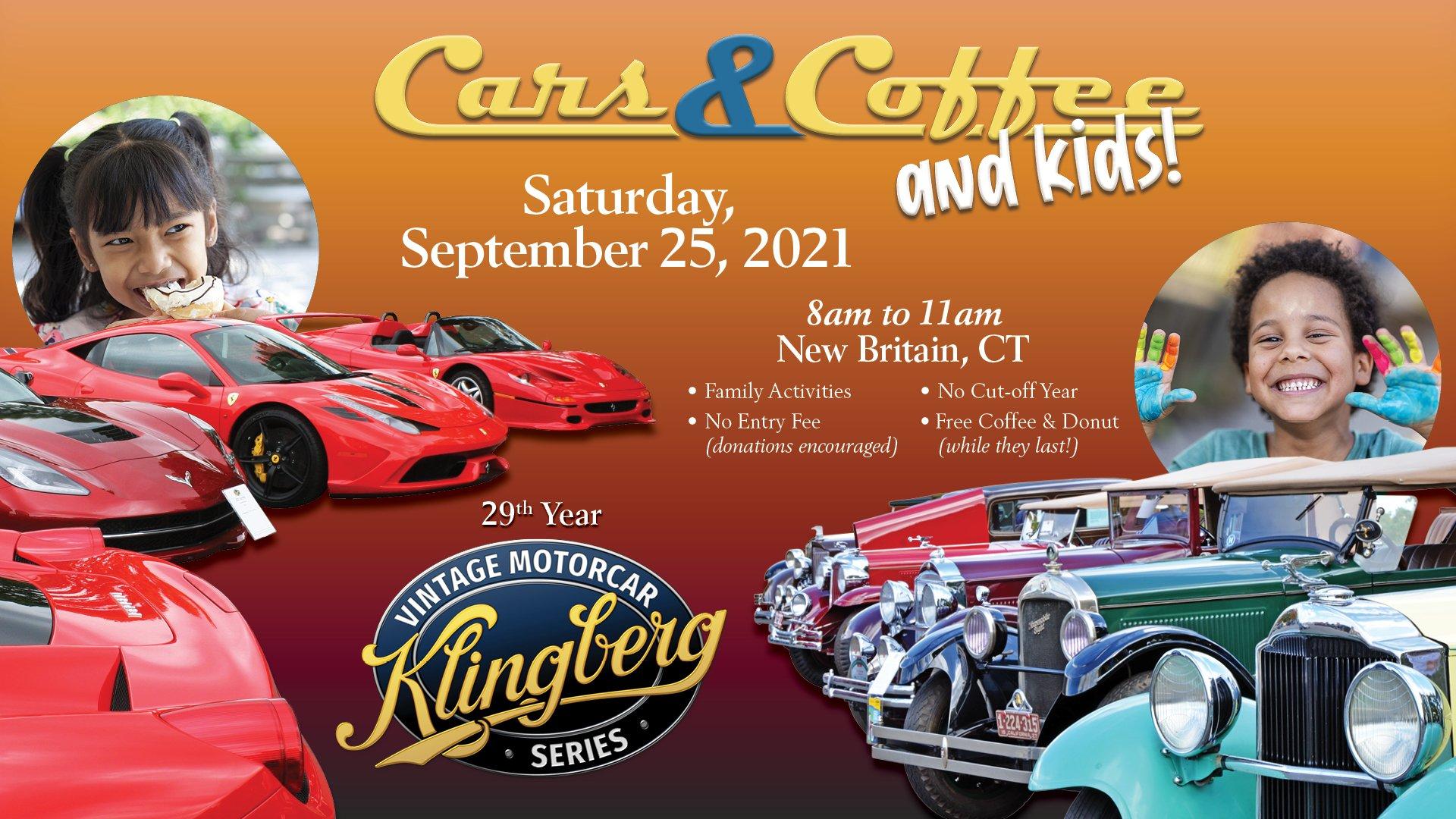Cars & Coffee & Kids - Sept 25, 2021